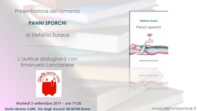 3 Settembre A Roma: Panni Sporchi Alla Libreria Giufà